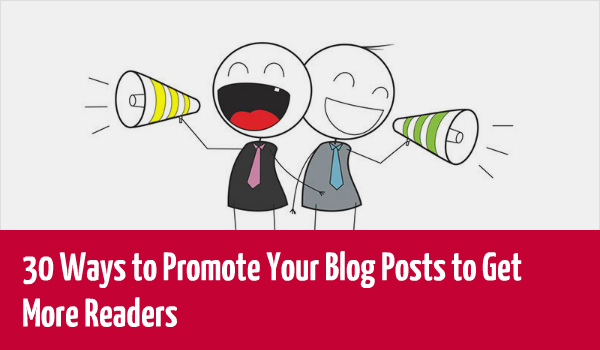 get your blog promoted