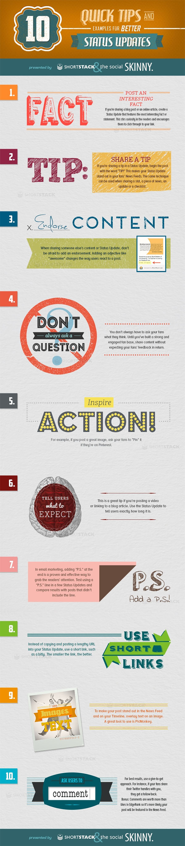 10 Tips for Better Social Media Status Updates