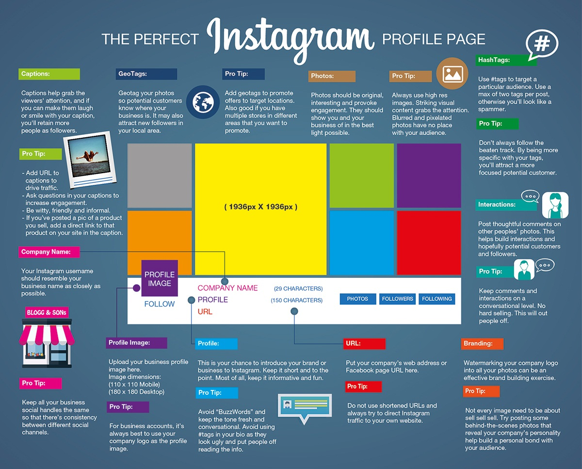 how to make a page on instagram
