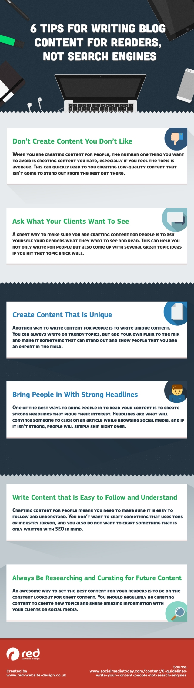 6 Tips for Writing Blog Content for Readers, Not Search Engines