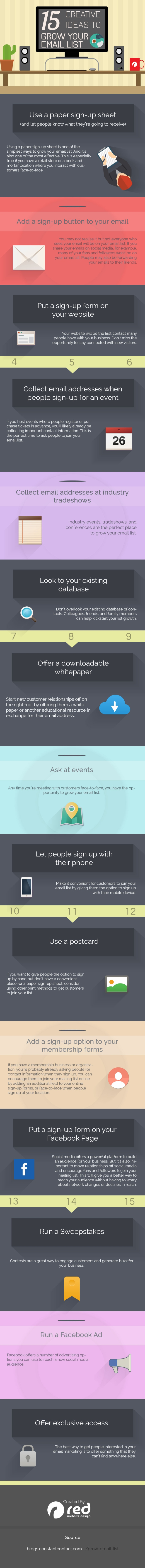 Email Marketing 15 Creative Ideas to MASSIVELY Increase Email Subscribers