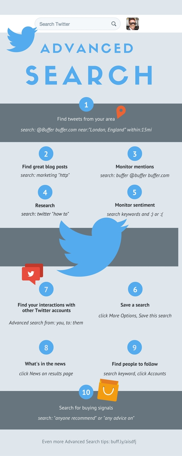 10 Ways to Become a Twitter Power User by Using Advanced Search