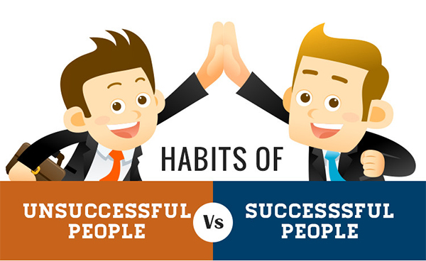 Will You Succeed? The Habits of Successful People vs Unsuccessful People