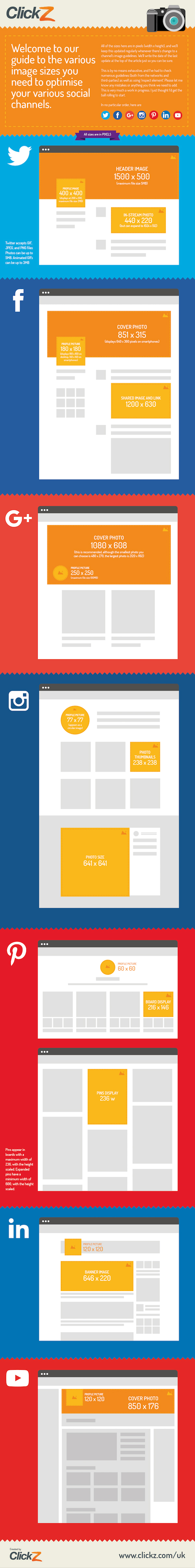 Do Your Social Media Images Look Naff Follow This Image Size Guide