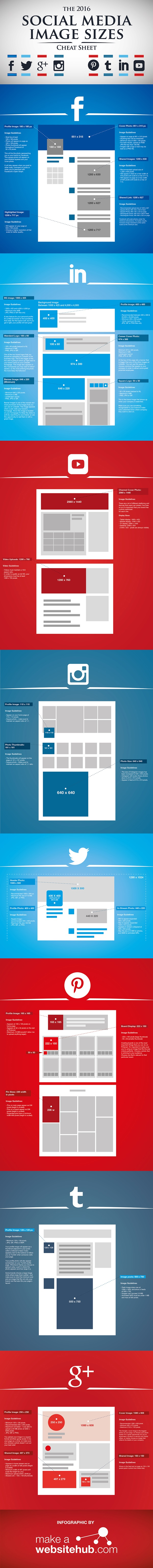 The 2016 Social Media Image Size Cheat Sheet