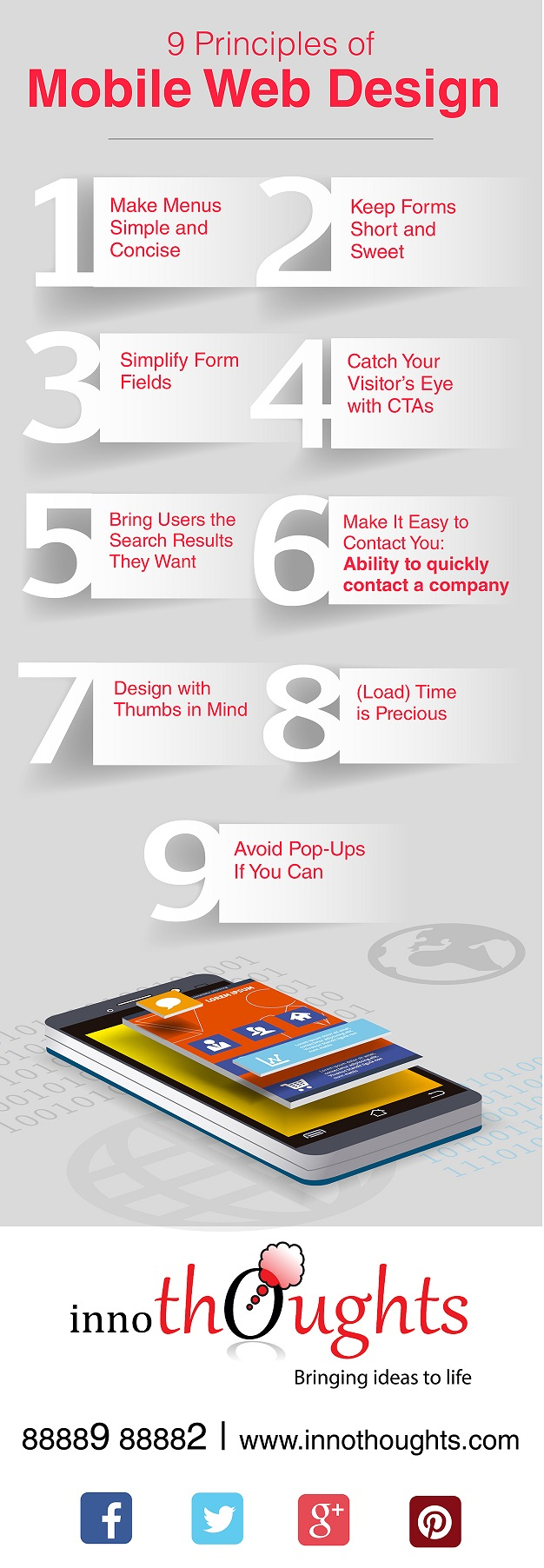 Design With Thumbs in Mind! 9 Principles for a Successful Mobile Website