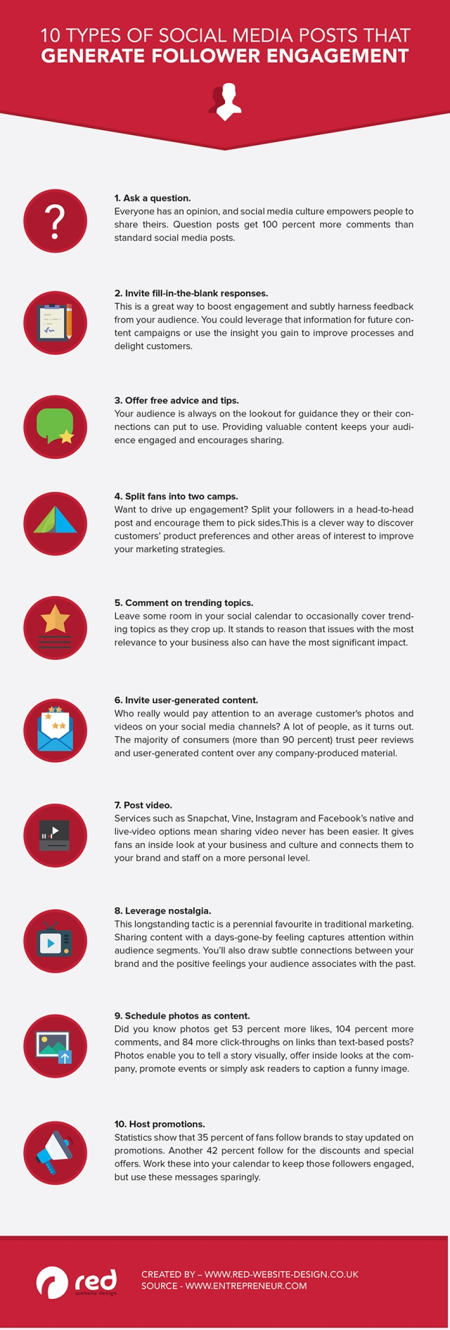 10 Types of Social Media Posts That Generate Engagement With Followers